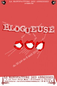 blogueuse theatre paris