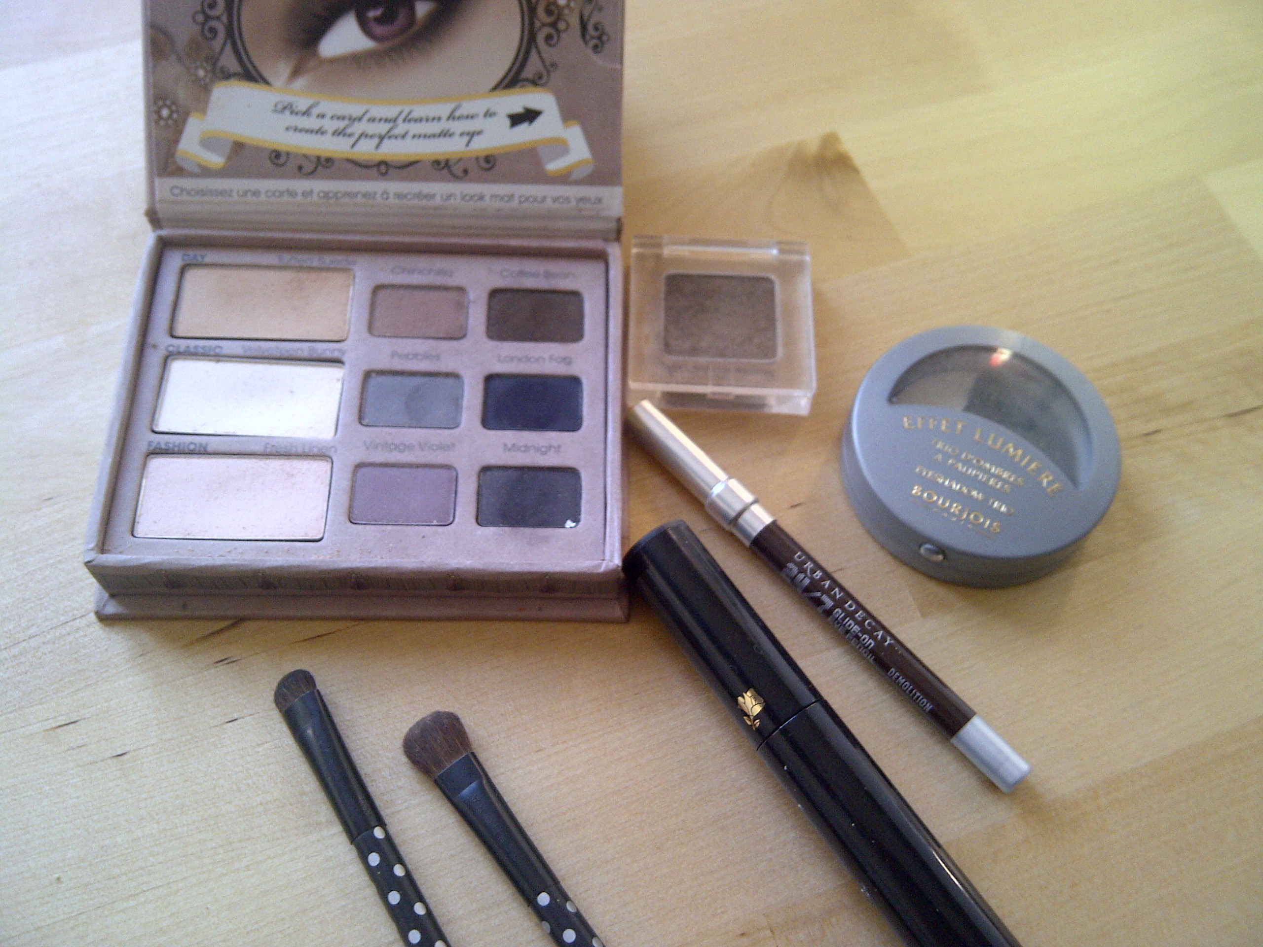 blog beauté routine make up yeux
