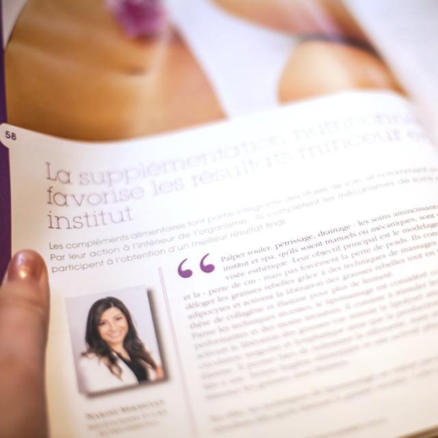 C'est qu'on a même un long article ( concept #beauté ) qui parle de notre #diététicienne _Nariné Mikssiyan_ ?