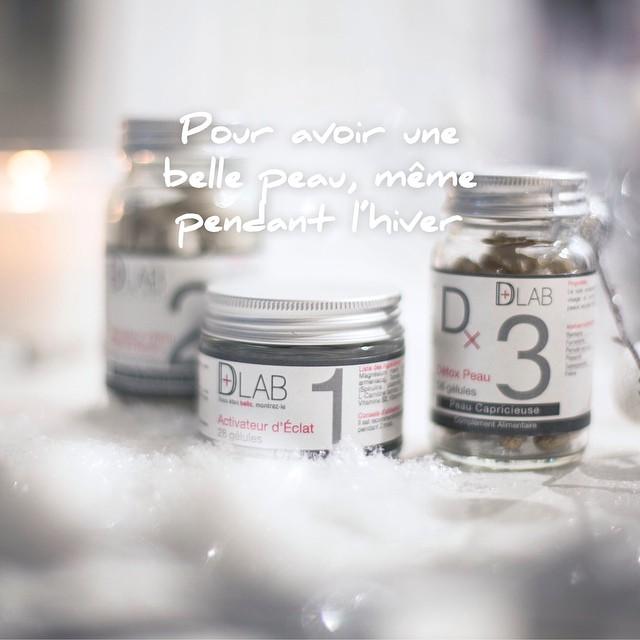 Une belle peau en hiver avec #dlabnutricosmetics c'est possible ❄️? #dlab #noel #froid #peau #hiver #beauté