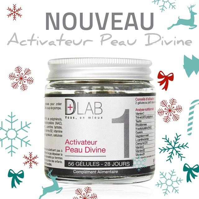 Nouveau : Activateur peau divine ! Faites vite car ils partent extrêmement vite ❄️? #dlab #dlabnutricosmetics #peau #divine #nouveau #cosmetique