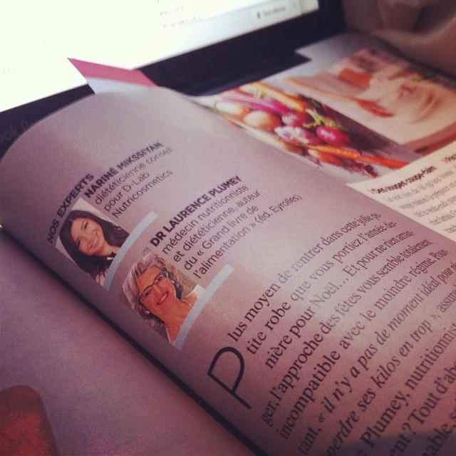 Nouvel article publié sur #topsanté ? D-LAB fait son apparition sur double page au sein du dossier #nutrition et pour ça on dit ouiiii ?
